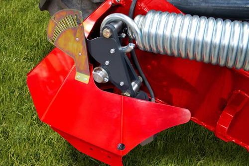 Hydraulic spring adjustment