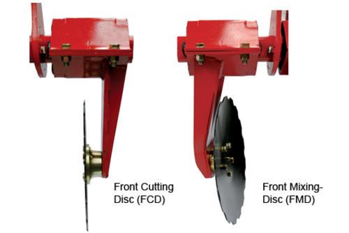 CTC - Система передних дисков