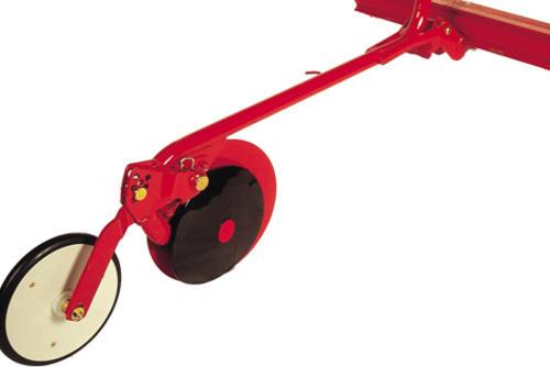 Дисковый сошник CX с узким прикатывающим катком (26мм)